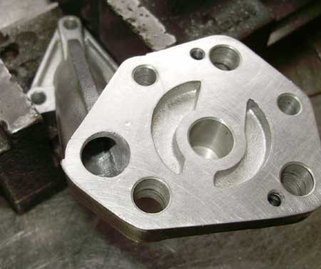 Modified Oil Pump Pickup Plate