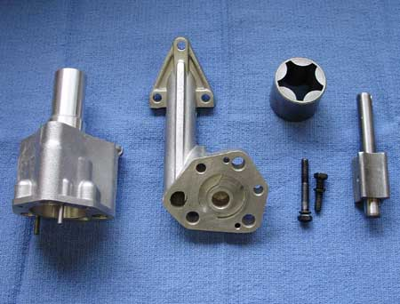 Disassembled Oil Pump